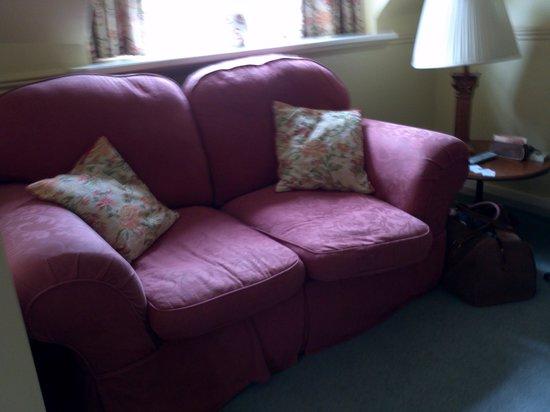 Lake Vyrnwy Hotel & Spa: Our sofa