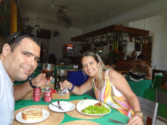 Chale Recanto da Praia: Show