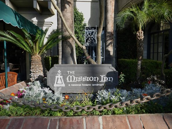 The Mission Inn Hotel and Spa: Sign