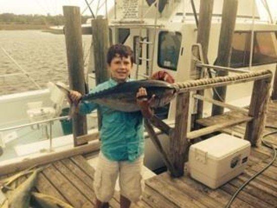 Lucky Strike Charters : Blackfin tuna