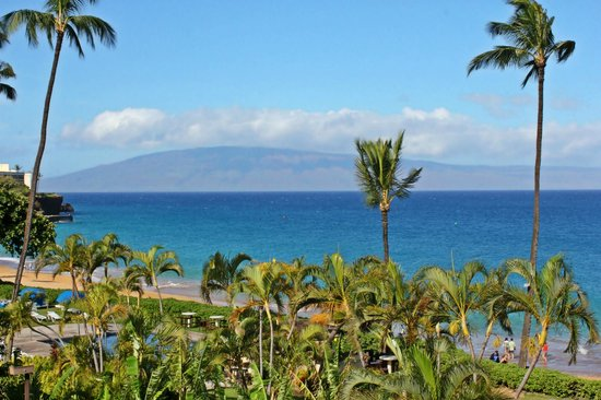 Royal Lahaina Resort : Oceanfront room view