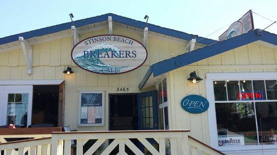 Breakers stinson beach