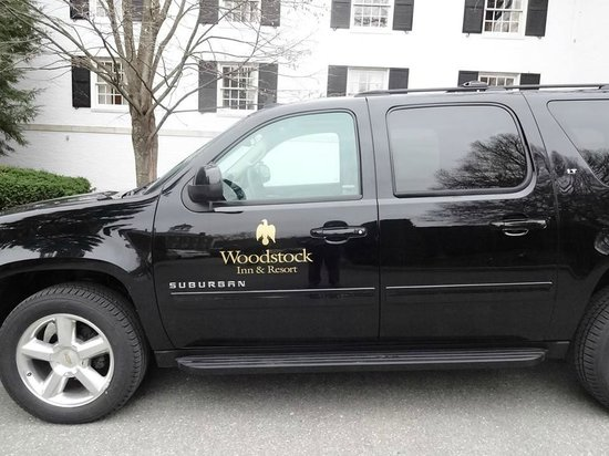 Woodstock Inn and Resort: The New Shuttle Vehicle