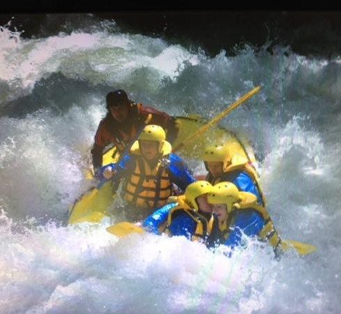 Papigno, Italien: rafting con Umberto