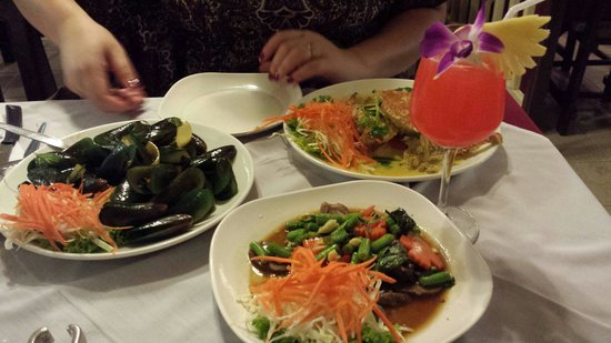 Ying Restaurant: Absolutely divine seafood!