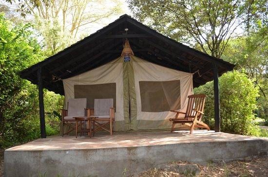 Sarova Mara Game Camp : The Tent