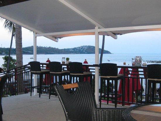 Anantara Lawana Koh Samui Resort: view from breakfast