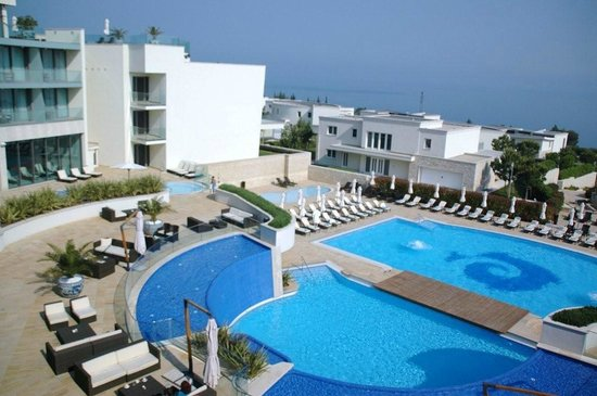 Kempinski Hotel Adriatic Istria Croatia: View of main pool area