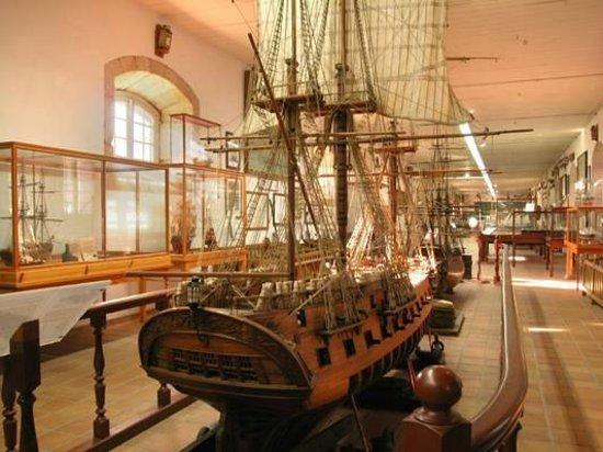 Museo Naval: MAQUETAS
