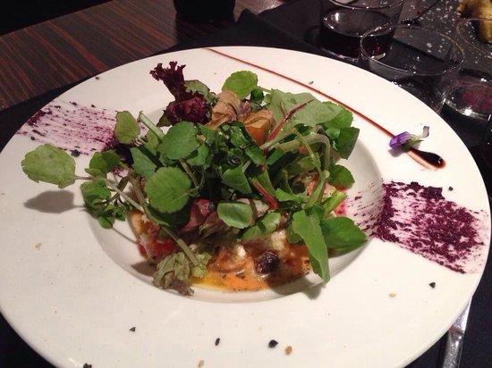 Plats: Ensalada de couscous con queso fresco