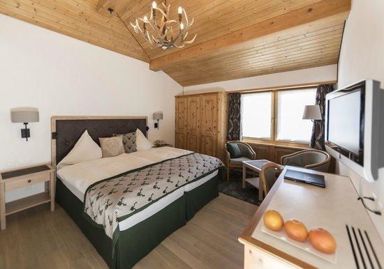 Hotel Steinbock: Doppelzimmer mit Parkett