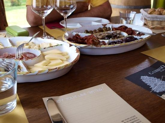 Sicily Life Tours: Gambino Vineyard - we recommend the lunch