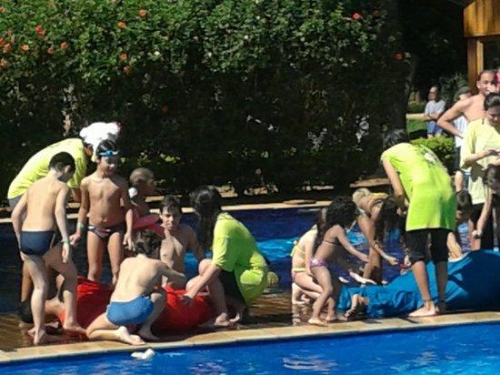 Santa Clara Eco Resort: recreação infantil na piscina - ufc