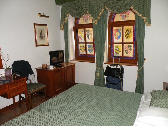 Hotel Royal Ricc: Our room