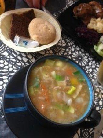 Kjot & Kunst: Lamb soup