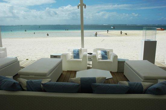 LUX* Belle Mare : Bello e ottimo il ristorante sulla spiaggia