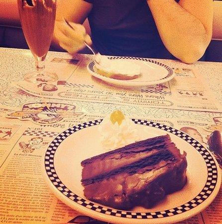 Tommy's Diner Caen: Le dessert