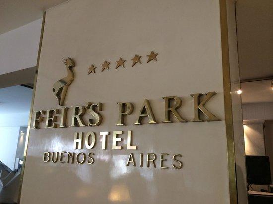 Feirs Park Hotel : entrée