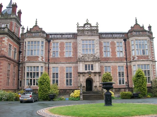 Crewe Hall: Front View