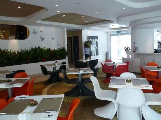 Wangz Hotel: Frühstücksraum in der Lobby