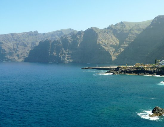 Barcelo Santiago: View of Los Gigantes from hotel