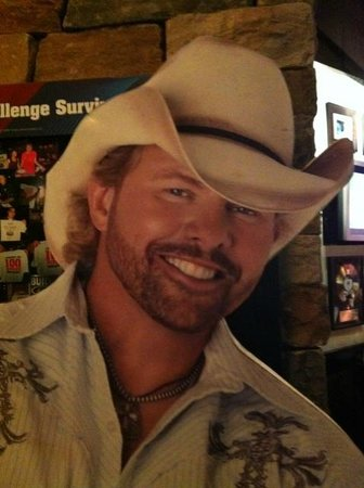 Toby Keith's I Love This Bar & Grill : Toby Keith Cardboard Stand-up