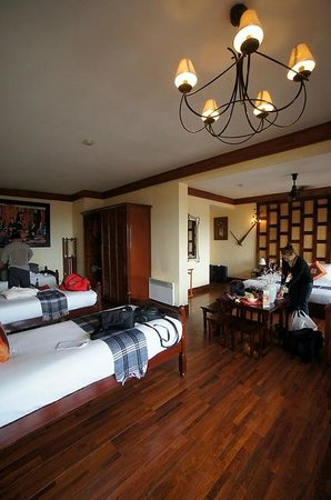 Victoria Sapa Resort and Spa : 50 sqm family room