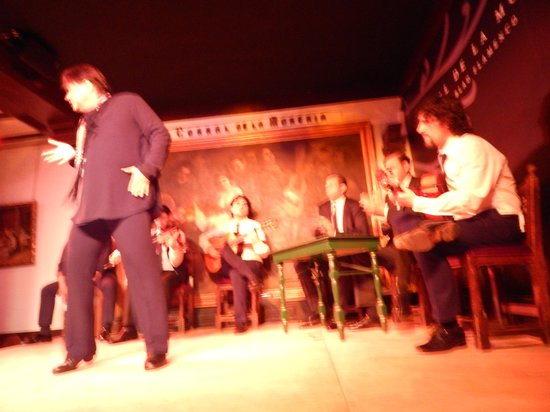 Corral de la Moreria : Antonio Canales on Corral Stage