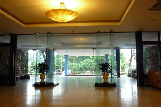 Thang Loi Hotel: 寂しいロビー