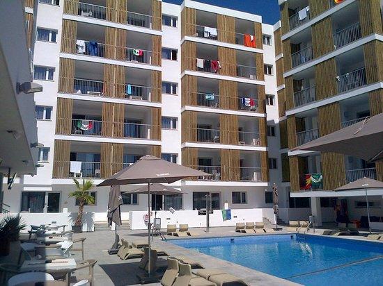 Ryans Ibiza Apartments: Main Area