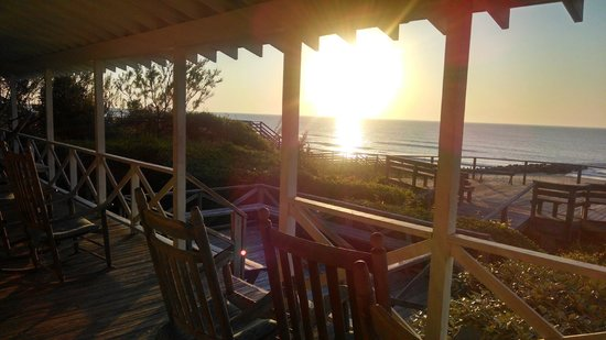 Sea View Inn : View from porch