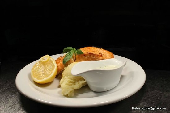 The Friary Tulsk's wild salmon special