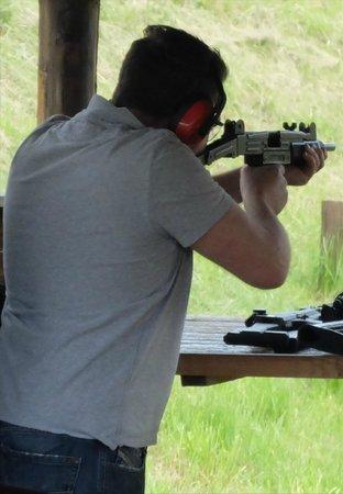 Prague Tours Direct Shooting Trips: UZI SMG was surprisingly easy