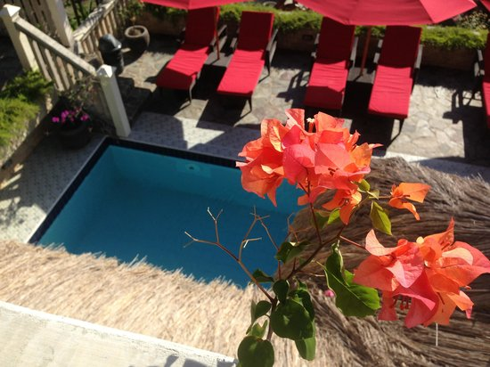 Tempat Senang Resort: View from the balcony