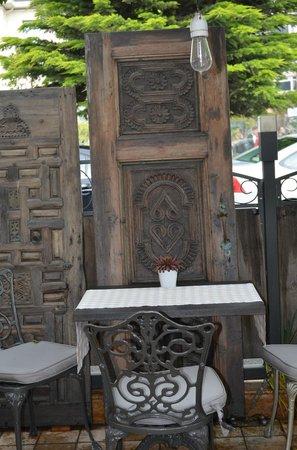 House of Medusa : terrasse