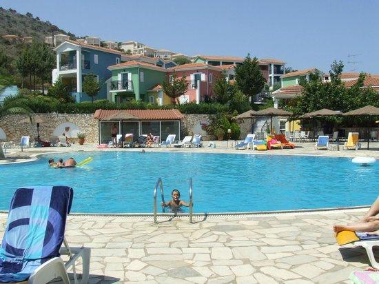 Porto Skala Hotel & Village Resort : La piscina del resort