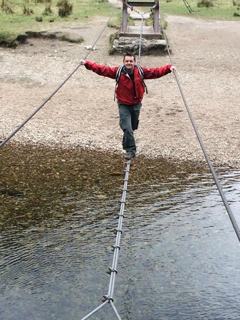 Great Glen Lodges: Steal Falls Chain Crossing
