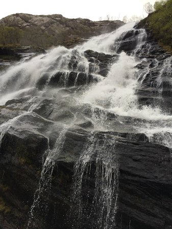 The Great Glen Lodges: Steal Falls