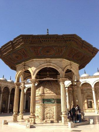 Mosquée Mohammed Ali : Inside