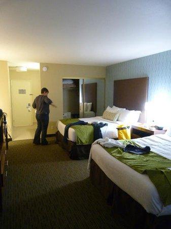 BEST WESTERN PLUS Beach View Lodge: Bedroom