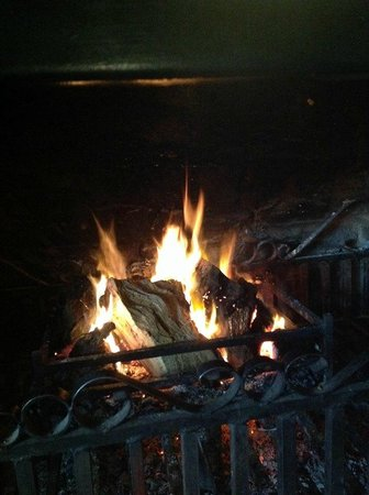 Stockton Cross Inn: Our Open Fire