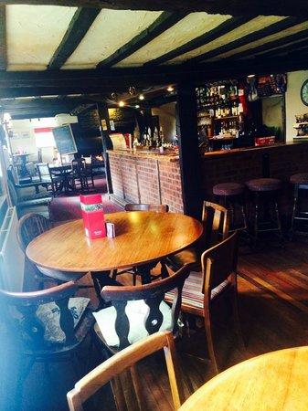 Stockton Cross Inn: Bar / Restaurant