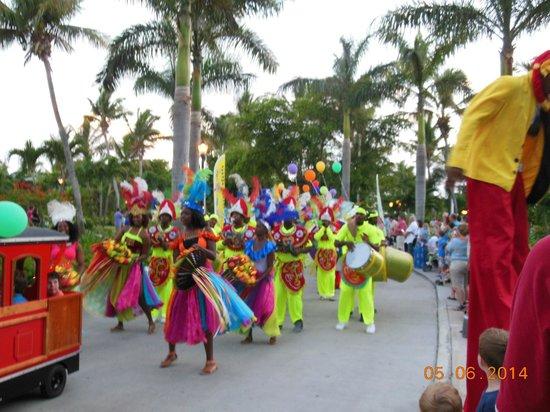 Beaches Turks & Caicos Resort Villages & Spa : Sesame Parade