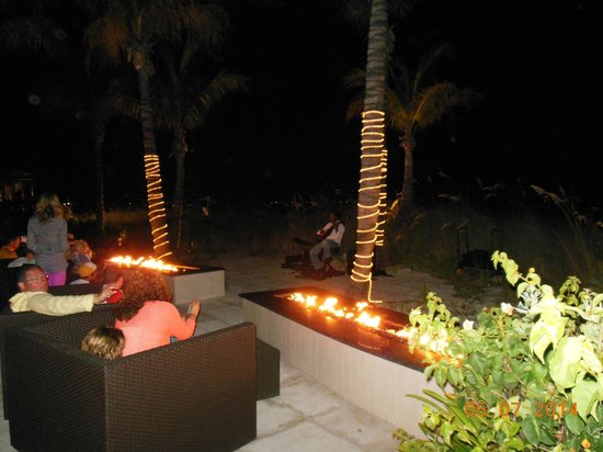 Beaches Turks & Caicos Resort Villages & Spa: Key West Village Fire Pits