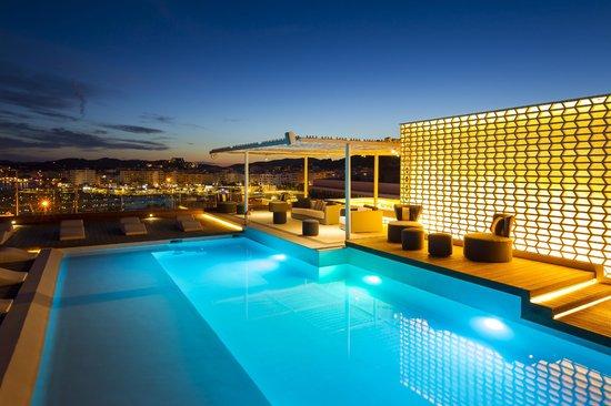 Aguas de Ibiza: Roof Top Pool