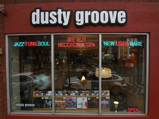 Dusty Groove: Front Entrance