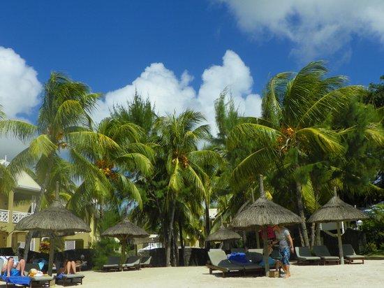 Calodyne Hotel: Beach at Calodine.
