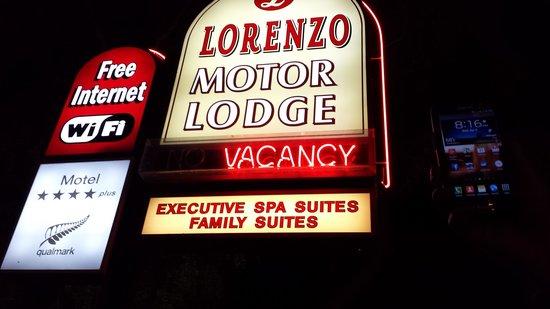 Lorenzo Motor Lodge: Marquee