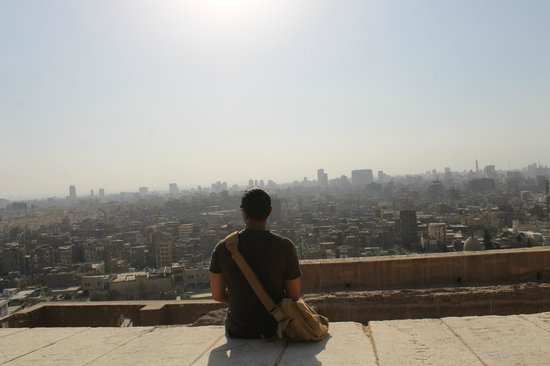 Mosquée Mohammed Ali : View of Cairo from behind the Mosque!