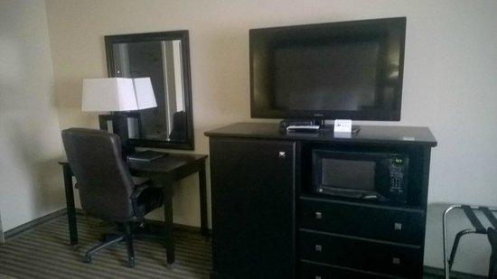 Desert Quail Inn: Big TV